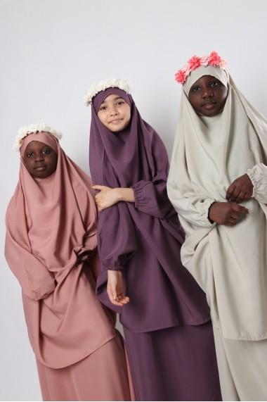 Jilbab Jihane avec jupe fille