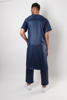 Qamis Pakistani Al Atlas short sleeves