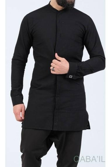 Ultra light shirt Qabail officer collar