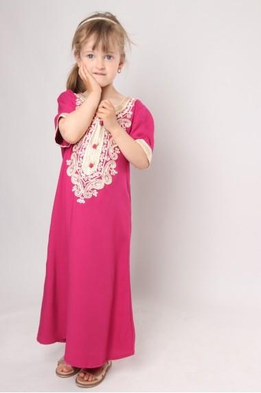 Gandoura marocaine fillette