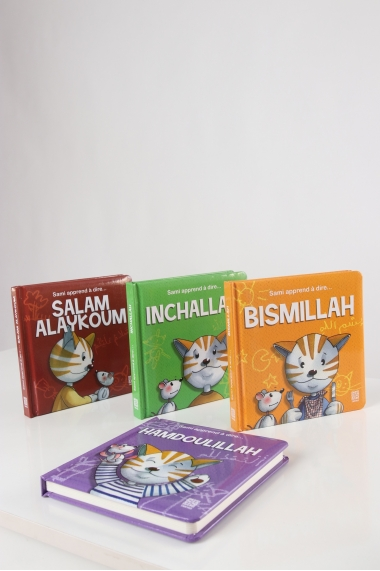 Pack 4 Sami books