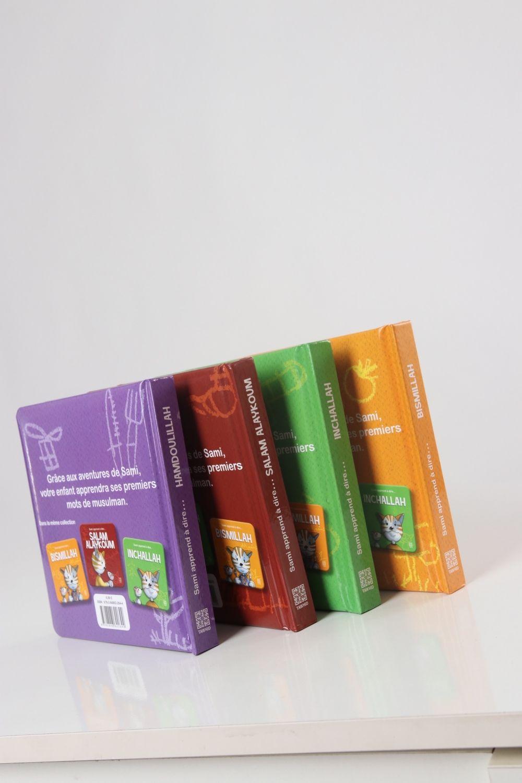 Pack 4 livres Sami