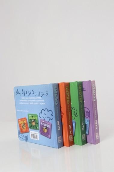 Pack 4 livres émotions