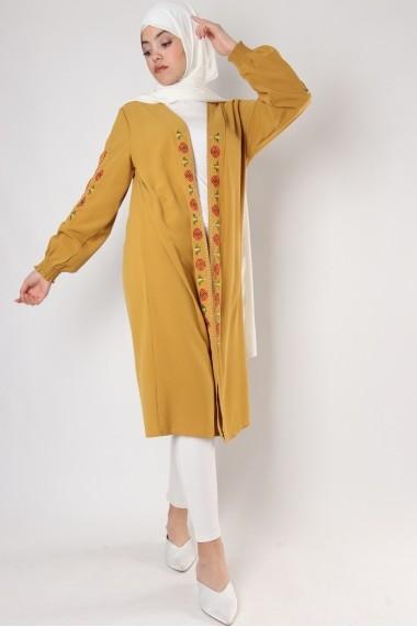 Kimono mi-long Kasami