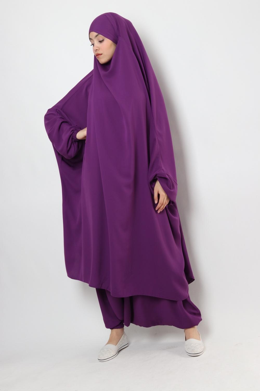 Half jilbab / Harem El Bassira Cubra