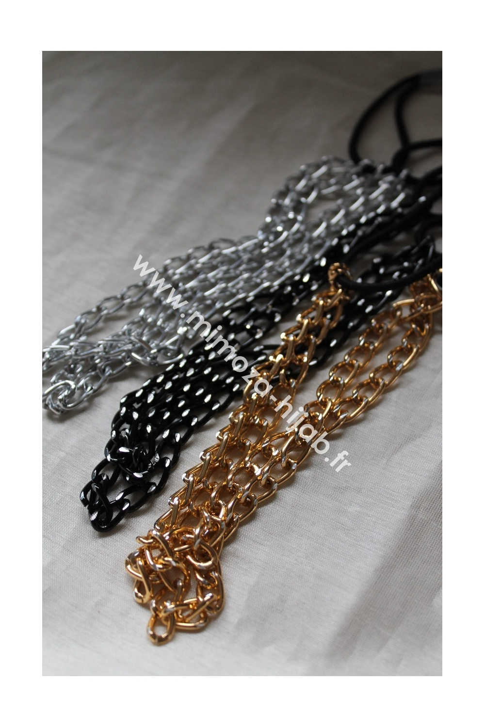 Headband Duet Chains