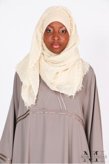 Maxi scarf Kingdom Gold thread