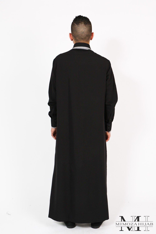 Qamis SIDES Al Fitra for Muslim man