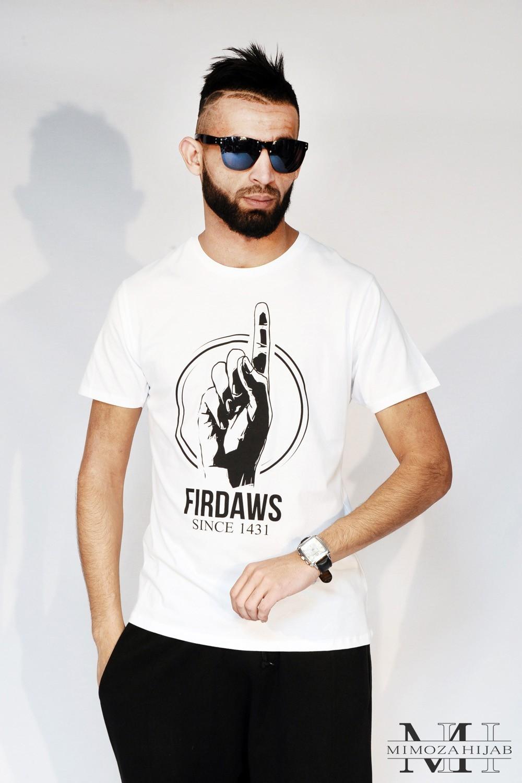 Firdaws White T-Shirt
