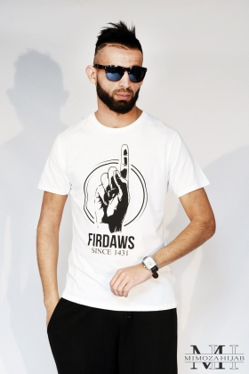 T-Shirt FIRDAWS Blanc