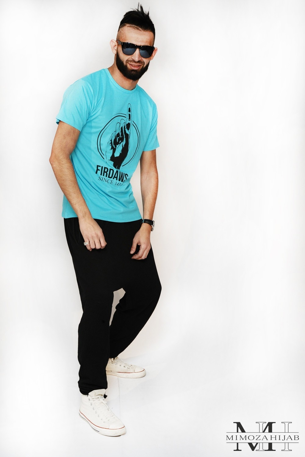 T-Shirt FIRDAWS Turquois