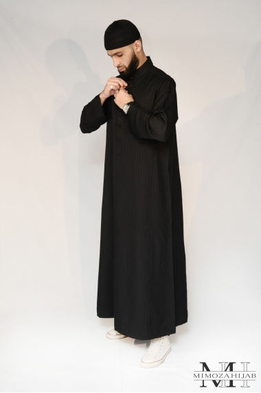 Thick Qamis Al Haramain Black
