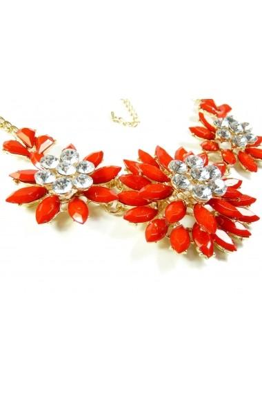 Lilas fancy necklace