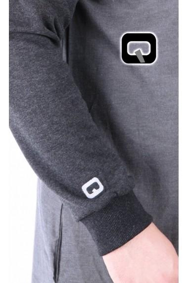 qamis short mao collar
