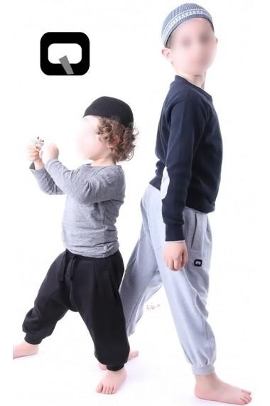 Harem jogging child Qaba'il