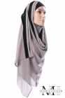 Hijab Style bicolor for muslima