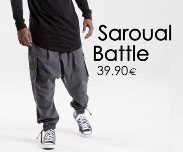 Sarouel Battle DC JEANS